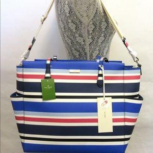 Kate Spade Kaylie Laurel Way diaper/large bag